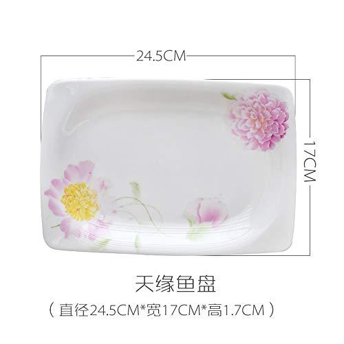 YUWANW Candy Farbe Kreative Hirsch Platte 6/7/8 Zoll Platte Obstteller Disc Western Dish Kuchen Platte Hängen Platte, 7 Zoll 18 Cm 6-zoll-candy Dish