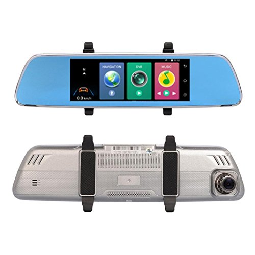 Preisvergleich Produktbild AutoKamera,  Prevently Camera Auto Autokamera 1080P HD1.3MP Webcam Auto DVR Dual Lens Kameras Fahrzeug Rear Video Recorder Camcorder Kamera Video Rekorder