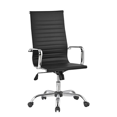 langria-comfortable-high-back-ribbed-pu-leather-executive-chair-home-office-use-ergonomic-design-ful