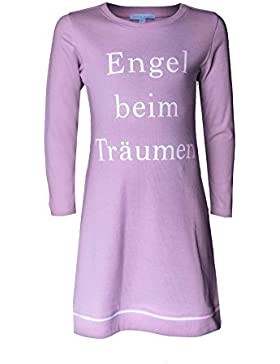 Mädchen Nachthemd Engel beim Träumen rosa von Louis&Louisa