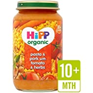 Hipp Pasta & Porc Biologique Avec Des Tomates Et Fines Herbes 220G - Paquet de 4