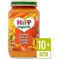 Hipp Pasta Biologica E Carne Di Maiale Con Pomodoro E Le Erbe 220G - Confezione da 2 - Maiale Cotto