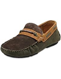 Hats Off Accessories Men Olive Loafer Shoes