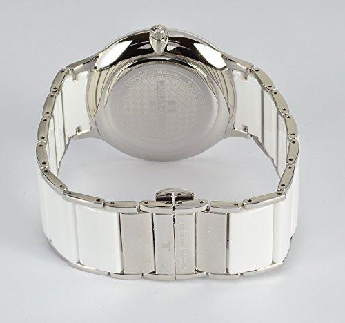 Jacques Lemans Unisex Analog Quarz Uhr mit Edelstahl Armband 1-1855B