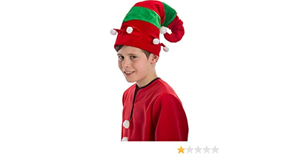 Cappello elfo adulto Natale  Amazon.it  Giochi e giocattoli 034f3a6fdcfa
