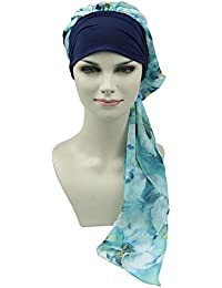 FocusCare la chimio turban pour les femmes cancer confortable tissu  coiffure en bambou 9af0c026a77