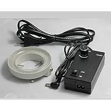 GOWE notebookbits 120 bombilla LED Microscopio estéreo anular Iluuminator zeiss ajustable