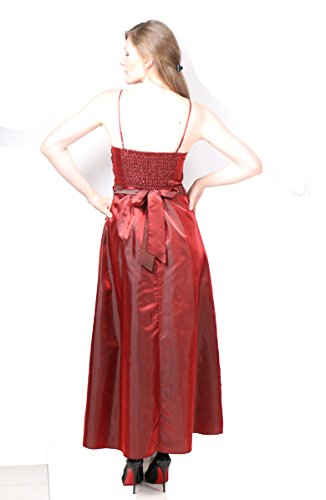 ROBLORA Kleid Hochzeit Party Cocktail-Zeremonie, Kleid JKLONG Brautjungfern Rot - Rot