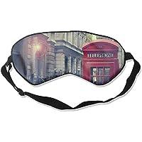 Vintage Street Red Telephone Box In London 99% Eyeshade Blinders Sleeping Eye Patch Eye Mask Blindfold For Travel... preisvergleich bei billige-tabletten.eu