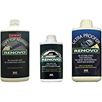 Renovo REN-KIT5 Triple Cleaning Kit includes Soft Top Reviver/Soft Top Ultra Proofer/Soft Top Canvas Cleaner, Brown preiswert