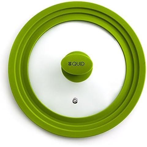 Quid 7439026 - Tapa Multifuncion 20-22-24Cm Iron Ver Quid , Color Verde , 31x25x5 cm