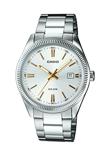 Casio (MTP-1302D-7A2VDF|A488) Enticer Silver Dial Men's Analog Watch image