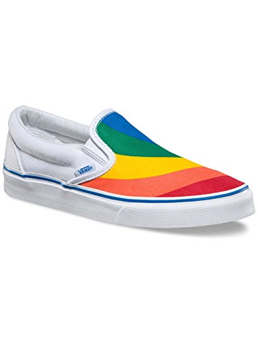 Vans Ua Classic Slip-On, Baskets Basses Femme (Rainbow) True White