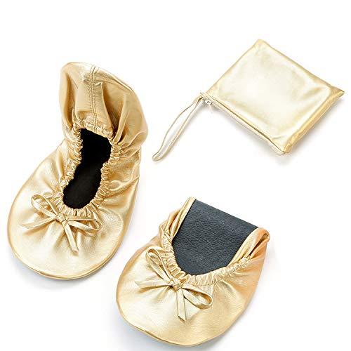 JOINFREE Zapatos cómodos Plegables en su Bolso Bailarinas para Damas Bombas para después de la Fiesta...