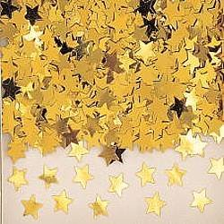 BIGIEMME S.R.L., CONFETTI STARS OF METAL POWDER GOLD (Discount Party Store Supply)