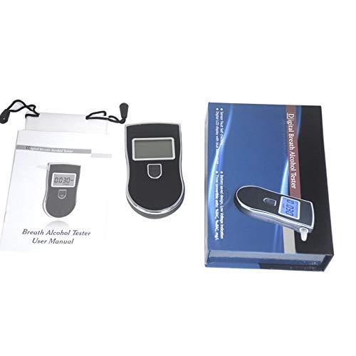 Nowakk Alta precisión Alcohol Tester Pantalla LCD Pantalla Desmontable Boca Boca Digital Detector de Alcohol Alarma Audible