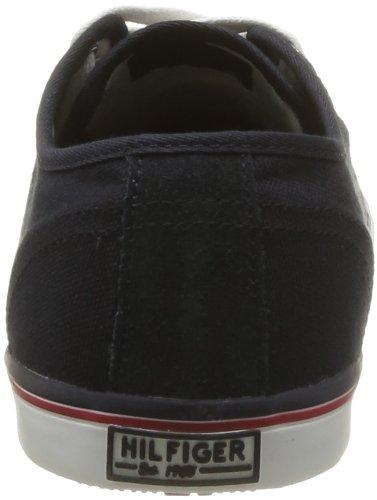 Tommy Hilfiger Vantage 2a Herren Sneaker Schwarz - Noir (403 Midnight)