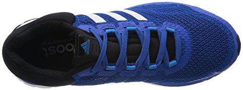 adidas response boost m Herren Laufschuhe Blau (Black 1 / Blue Beauty F10 / Solar Blue2 S14)