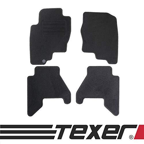 Fußmatten Passend für Nissan Pathfinder III Bj. 2005-2010 Basic ()