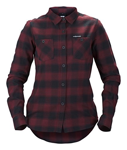 Sweet Protection Damen Shirt Flannel Ron Red, L (Freeride Carbon Ski)