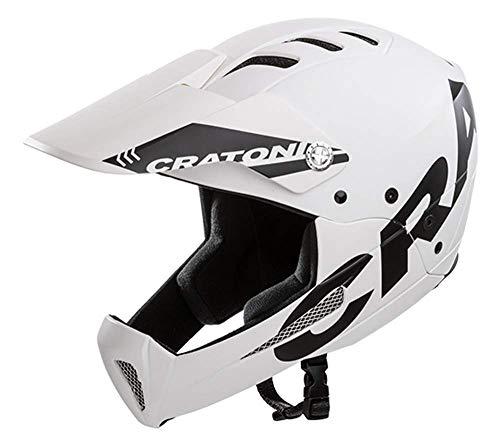 Cratoni All Mountain Helm Shakedown (S-M (53-57 cm), White (Weiss))
