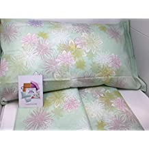 06cdaaf865 Caleffi Completo di Lenzuola matrimoniali in Puro Cotone Art. Acquerelli  (Rosa 033)
