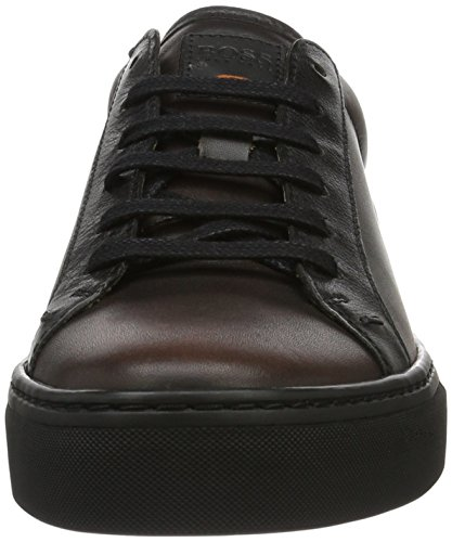 Boss Orange Noir, Sneakers Basses Homme Marron (Open Brown 240)