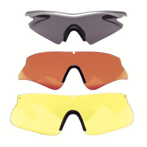 Beretta Schießbrille, rot-gelb-smoke, OC70-1-9