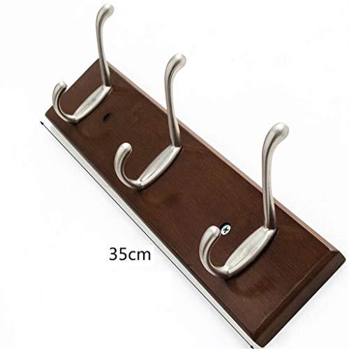XCO Hook, Perchero de pared de madera sólida Perchas simple pared abrigo colgado estante de la pared...