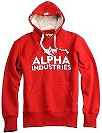 Alpha Industries - Foam Print Hoody Pull à Capuchon d'Homme 20656