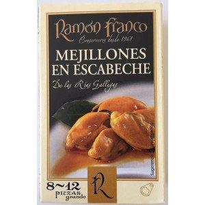 Cozze in Escabeche Ramon Franco 8/12pezzi.