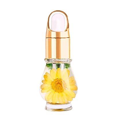 Nail Nutrient Solution Mix Taste Dried Flowers Cuticle Oil Pen Nail Art Care Treatment Manicure Set Lanspo
