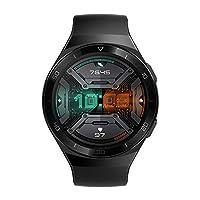 """HUAWEI WATCH GT2e Smartwatch, 1.39"""" AMOLED HD Touchscreen - Graphite Black"""