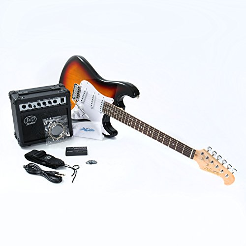 E-Gitarre ST Pack SB Sunburst
