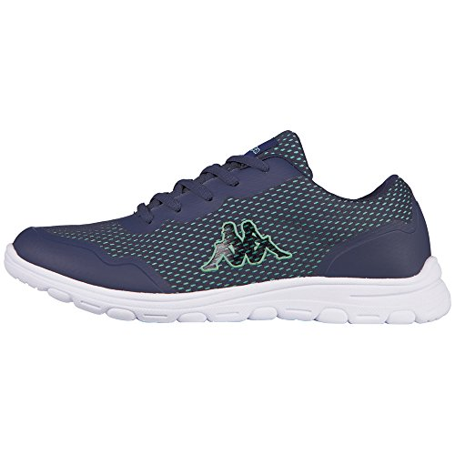 Kappa Preppy, Baskets Basses Femme Bleu - Blau (6736 navy/mint)