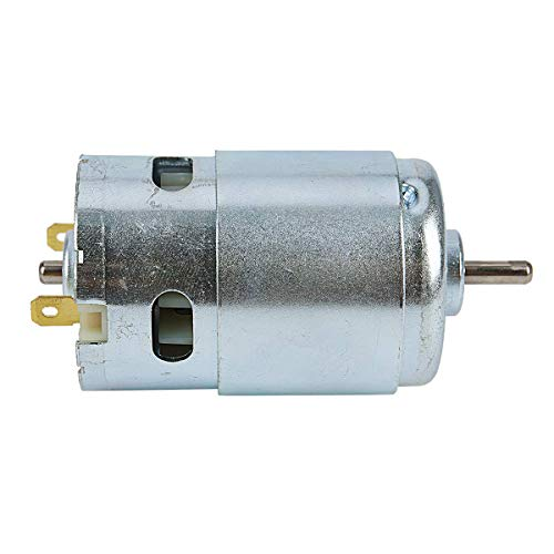 Morning May 895 Micro-Moto DC12-24 V Leistungsgenerator 15A 360 W 12000rpm Doppelkugellager 775 Motor-Upgrade DC Grande Drehmoment -