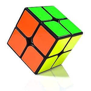 Maomaoyu Cubo Magico Original 4×4 4x4x4 Profesional Speed Cube Niños Juguetes Educativos Negro