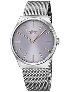 Lotus Herren-Armbanduhr Analog Quarz Edelstahl 18285/2
