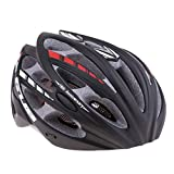 Sharplace Erwachsene Fahrradhelm MTB Fahrrad Mountain Bike Helm Radhelm - Schwarz, L