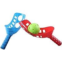 TOYMYTOY Juego Scoop Ball Juego Scoop Toss Catch Set Juego de playa de deportes al aire libre para niños