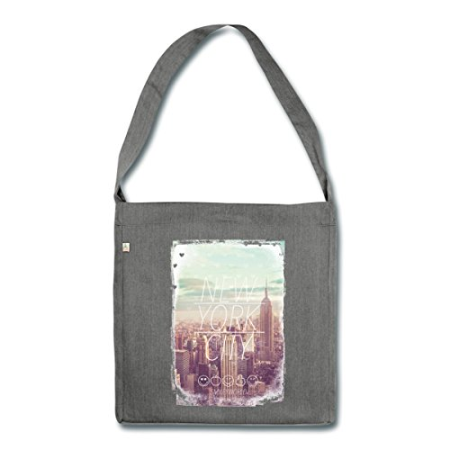 smiley-world-new-york-city-gratte-ciel-sac-bandouliere-100-recycle-de-spreadshirtr-charbon-chine