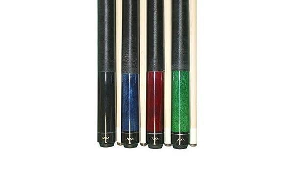 b5e44a3e5c9 Set of 4 Aska Pool Cue Sticks LEC