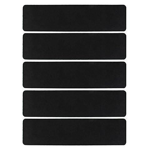 5Pcs Stairs Decking Grip Strips Anti Slip Tape Sticker 61x15cm
