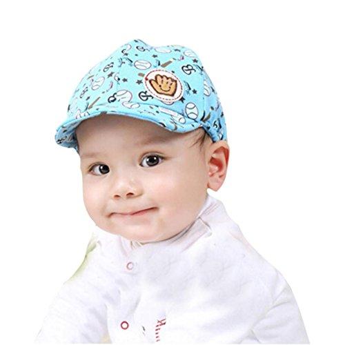 FakeFace M/ütze Baby M/ädchen Jungen Schirmm/ütze Baby Kappe Baumwoll Schieberm/ütze Cappy Baby Hat Basecap Babym/ütze Sommer Kinderm/ütze