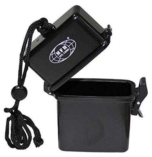 GEO-VERSAND Box, Kunststoff, Wasserdicht, Nackenband Bw, schwarz, 10391