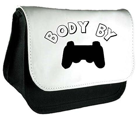 Body by Gaming Uni contrôleur Jeu Statement Pochette ou Trousse taille unique noir