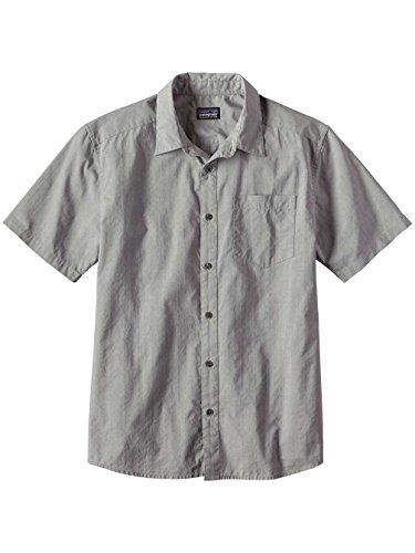 """Herren Wanderhemd / Funktionshemd """"Men´s S/S Fezzman Shirt Slim Fit"""" scorpo dobby: feather gre"""