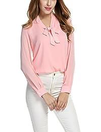 3fe6fd212b0 Amazon.co.uk: XL - Pink / Blouses & Shirts / Tops, T-Shirts ...