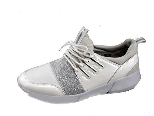 Rebelde, Sneaker donna Bianco