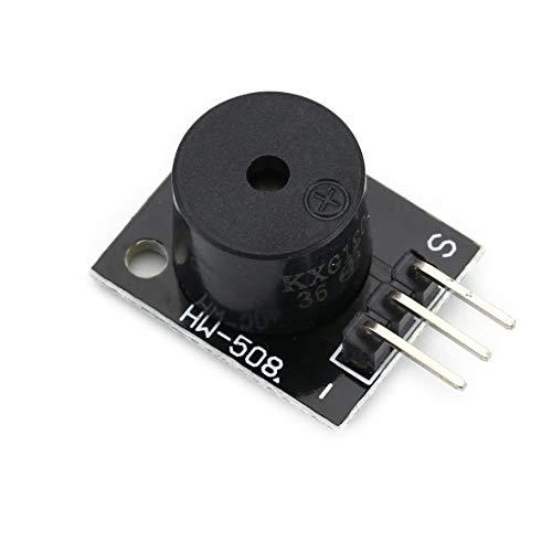 Heaviesk KY-012 Modulo cicalino Attivo per Arduino AVR PIC Active Speaker Buzzer modalità Allarme Accessori per PC Stampante Telefono Timer